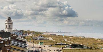 Katwijk Küste von Arjan van Duijvenboden