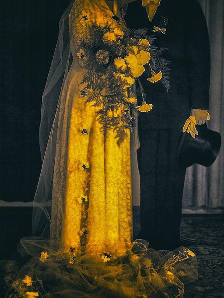 The yellow bride van Gabi Hampe