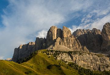 Passo Gardena Italië von Remko Bochem