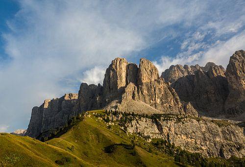 Passo Gardena Italië