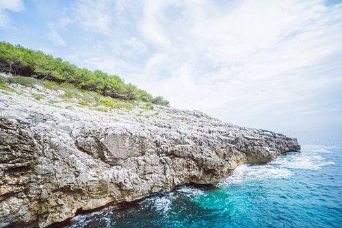Rocky Coastline van Antoine Ramakers