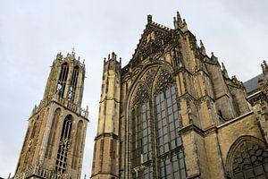 Domtoren en Domkerk in Utrecht (2)