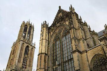 Domtoren en Domkerk in Utrecht (2) van Merijn van der Vliet