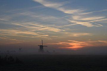 """""""Holländische Windmühlen"""" von Sem Verhey"""