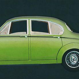 Jaguar MK-2 Limousine von 1963 von Jan Keteleer