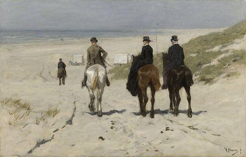 Morgenrit langs het strand, Anton Mauve sur Rebel Ontwerp