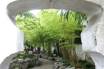 Chinese tuin von Olaf Piers