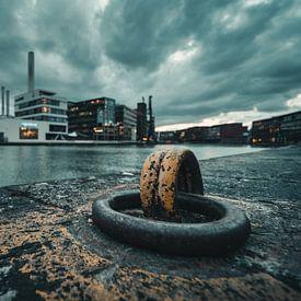 Stadthafen Münster - Wetterfront von Steffen Peters