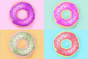 Go nuts with Donuts! van Leon Brouwer