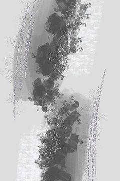 Abstrakte Malerei Nr. 12 - Anziehung von Melanie Viola
