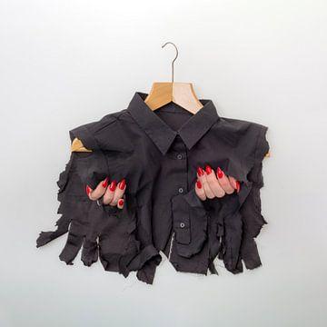 Gescheurde modetrend van Peter Hermus