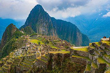 Machu Picchu, Peru van Henk Meijer Photography