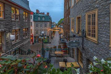 Centrum van Quebec, Canada van Maarten Hoek