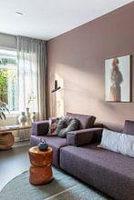 Kundenfoto: abstraktes Porträt von Carla Van Iersel, auf leinwand