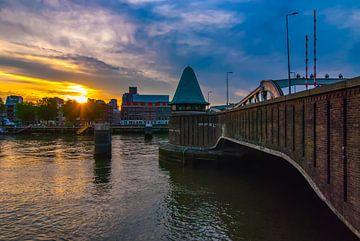 Koninginnebrug Rotterdam van Björn Massuger