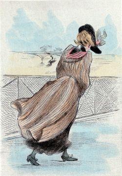 Mode 1886, Mode in het negentiende-eeuwse Parijs, Henri Boutet, (1851 1919) van Liszt Collection
