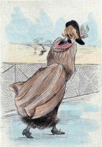 Mode 1886, Mode in het negentiende-eeuwse Parijs, Henri Boutet, (1851 1919) van