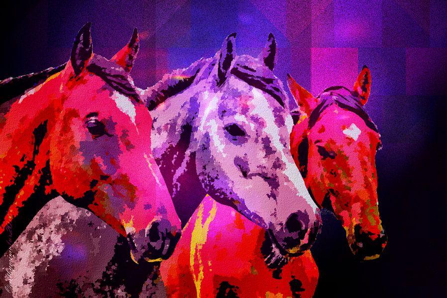 Three Horses von mimulux patricia no