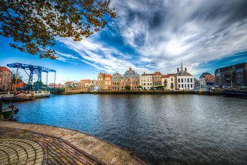 Hafen von Maassluis von Marc de IJk