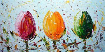 Tulipen von Gena Theheartofart