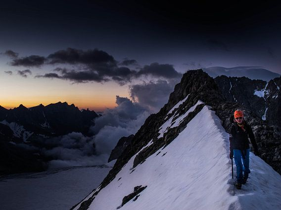 Roche Paillon Sneeuwgraat sur menno visser