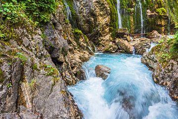Die Wimbachklamm im Berchtesgadener Land von Rico Ködder