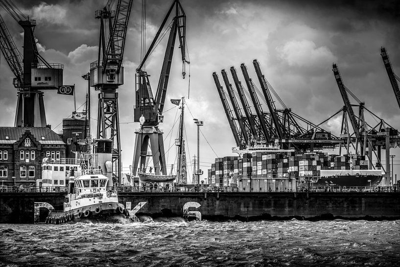 Hamburg - Der Hamburger Hafen von Ingo Boelter
