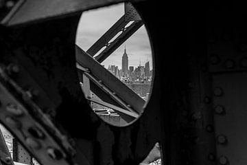 Uitzicht op Empire State Building (New York City) van Marcel Kerdijk