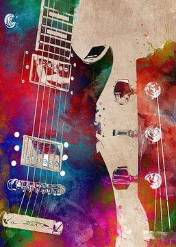 Gitaar 20 muziekkunst #gitaar #muziek van JBJart Justyna Jaszke