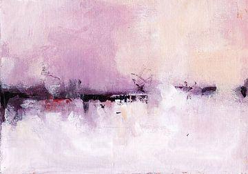 Pink Seascape van Maria Kitano