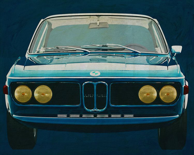 BMW 3.0 CSI 1971 von Jan Keteleer