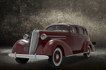 1936_AM_Sedan Bourgogne couleur front sur H.m. Soetens