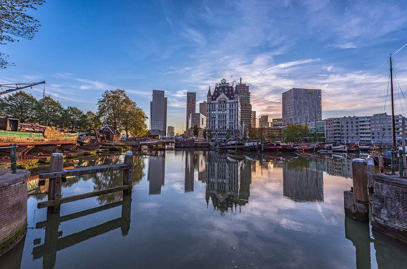 Oude Haven in Rotterdam van Gea Gaetani d'Aragona