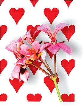 Valentijns bloem van Gerrit Neuteboom