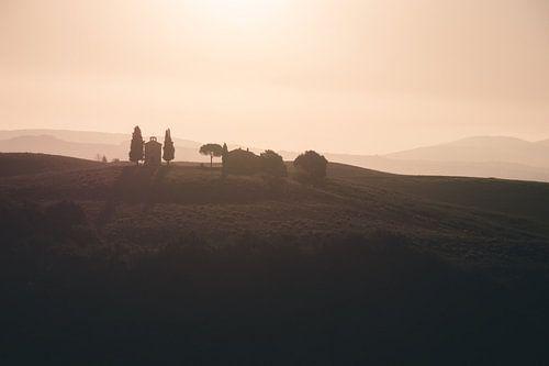Zonsopgang Toscane