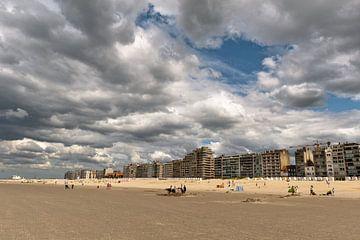 Nieuwpoort strand van Stef Boey