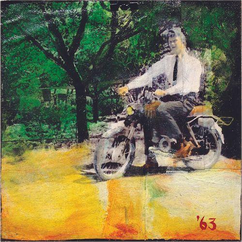 Motorfiets van Studio Blomm
