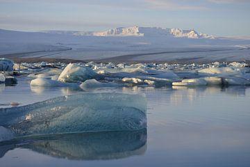 Glacier Jokulsarlon Iceland van Art Kleisen
