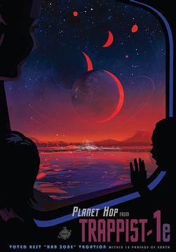 TRAPPIST-1e - A Planet-hopping Excursion