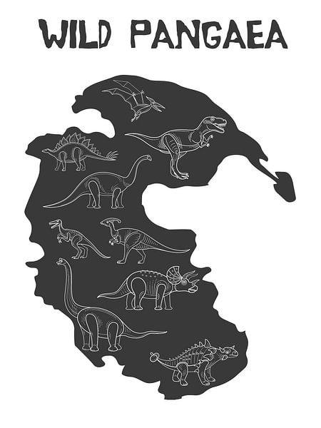 Dinosaurussen van Printed Artings