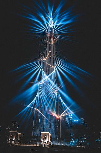 Burj Khalifa Dubai van