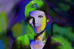 Avicii  Tim Bergling Abstract Portret van