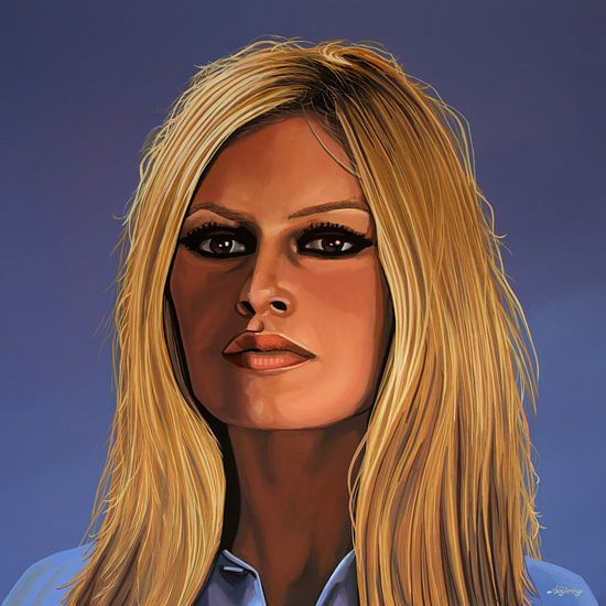 Brigitte Bardot van Paul Meijering