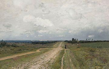 Die Straße von Wladimirka - Isaac Lewitan