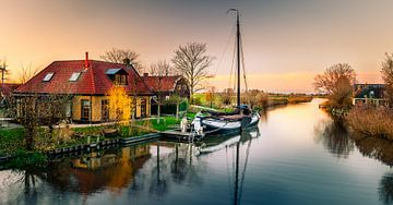 Britswerd sunset von Jaap Terpstra