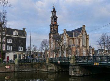 Westerkerk Amsterdam von Odette Kleeblatt