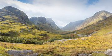 Three sisters bij Glencoe in Schotland van Rob IJsselstein