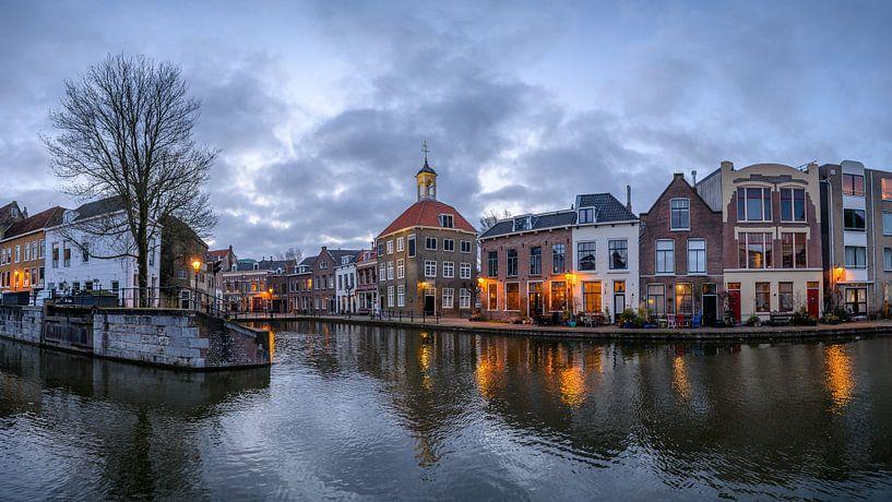Das Gepäckträgerhaus, Schiedam, Niederlande von Hans Kool
