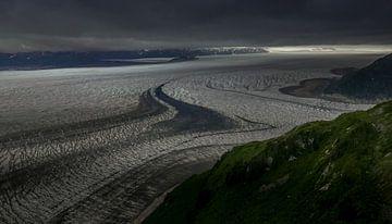 Brady-gletsjer van Marc Hill
