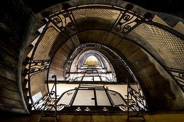 Trappenhuis Urban fotografie van Keesnan Dogger Fotografie